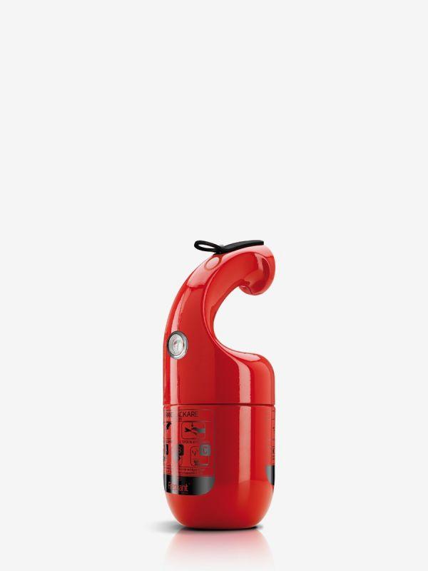 Pulverslokker Firephant 1 kg, rød