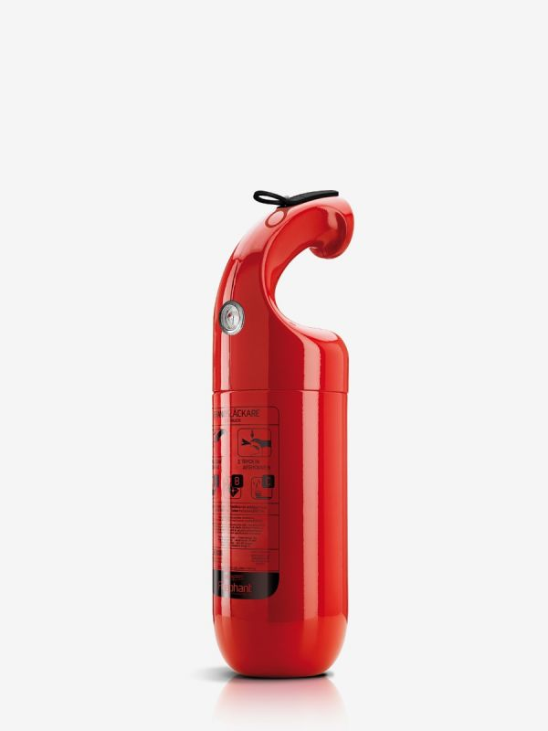 Pulverslokker Firephant 2 kg, rød